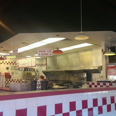 Photo taken at Five Guys by Timothy R. on 9/6/2013