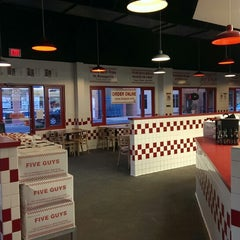 Photo taken at Five Guys by Timothy R. on 11/12/2013