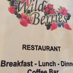 Photo taken at Wild Berries Restaurant by Axel J. on 11/1/2013