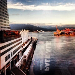 Photo taken at The Fairmont Waterfront by Ryan L. on 6/15/2013