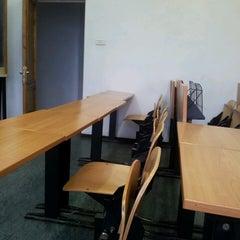 Photo taken at Universitatea Hyperion by Mery V. on 2/25/2013