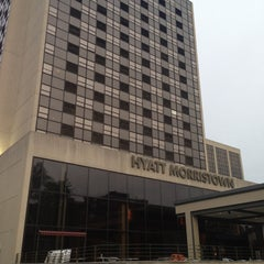 Photo taken at Hyatt Morristown at Headquarters Plaza by Jay W. on 4/28/2013