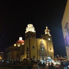 Photo taken at Basílica Colegiata de Nuestra Señora de Guanajuato by Lydia D. on 2/13/2013