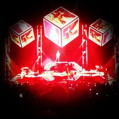 Photo taken at Gibson Amphitheatre by Rynda L. on 7/18/2013