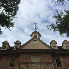 Photo taken at Wren Building and Courtyard by Caitlin C. on 9/13/2014