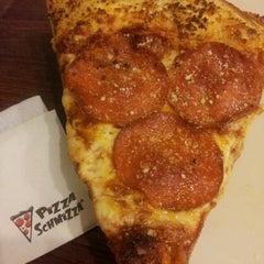 Photo taken at Pizza Schmizza by Rachel C. on 11/11/2013