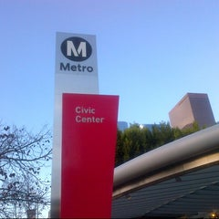 Photo taken at Civic Center Metro Station by Eli T. on 2/20/2013