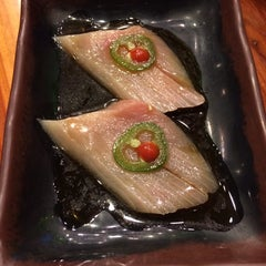 Photo taken at Kaizen Fusion Roll & Sushi by Kerry D. on 1/12/2014