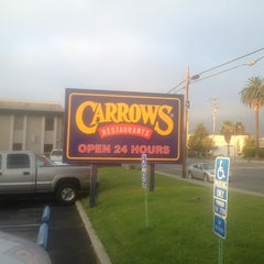 Photo taken at Carrows by Nick A. on 8/21/2013
