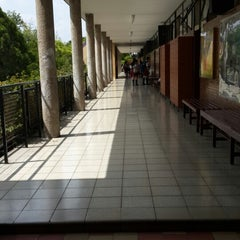 Photo taken at Instituto de la Vera-Cruz by Fanny C. on 10/7/2013