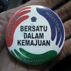 Photo taken at Kementerian Tenaga Kerja dan Transmigrasi RI by al c. on 4/28/2014