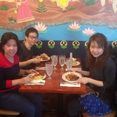 Photo taken at Coriander Indian Grill by Cherry T. on 11/9/2013
