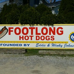 Photo taken at Eddie's Footlong Hotdogs by Todd S. on 5/1/2013
