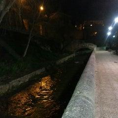 Photo taken at Parque del Huecar by Alberto on 3/22/2013