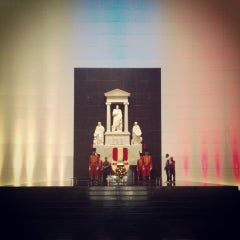 Photo taken at Mausoleo del Libertador Simón Bolívar by Damián F. on 7/26/2013