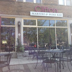 Photo taken at Clifton Martini & Wine Bar by Melissa L. on 5/18/2014