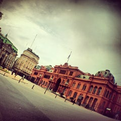 Photo taken at Plaza de Mayo by Grazy A. on 10/28/2012