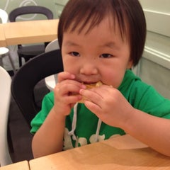 Photo taken at Waffle Bant by huiwon L. on 10/2/2012