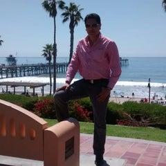 Photo taken at Metrolink San Clemente Pier Station by Deivid H. on 4/6/2014