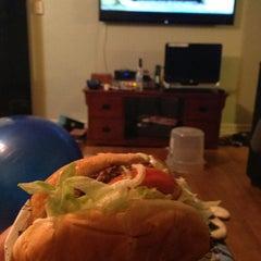 Photo taken at Fatburger by Simon G. on 9/11/2013