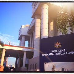 Photo taken at Malaya High Court Jalan Duta by Ck W. on 8/4/2014