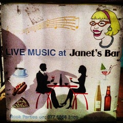 Photo taken at Janet's Bar by Charles V. on 5/5/2013