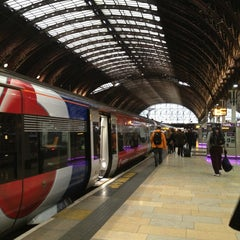 Photo taken at Heathrow Express Train - Paddington [PAD] to Heathrow [HXX] by nomeansnoo on 1/22/2013