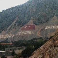 Photo taken at Eğirdir by Nrsema K. on 5/4/2013