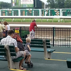 Photo taken at Monmouth Park Racetrack by Mia K. on 7/10/2013