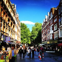 Photo taken at Leicester Square by Antonio F. on 6/30/2013