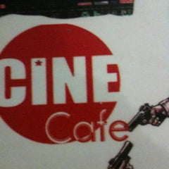 Photo taken at Cafe Cine by Yunus A. on 2/17/2013