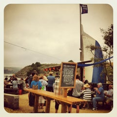 Photo taken at Hog Island Oyster Farm by Tom E. on 7/15/2013