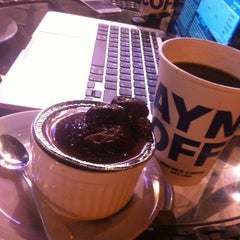 Photo taken at Wayne's Coffee by Mohammad A. on 5/4/2013