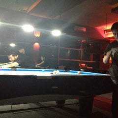 Photo taken at Gaol Billiard Pool & Lounge by sisca s. on 3/26/2013