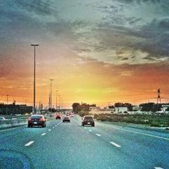 "Photo taken at Sheikh Mohammed Bin Zayed Road شارع الشيخ محمد بن زايد by Jassim ""Jesse"" A. on 5/1/2013"