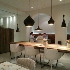 Photo taken at Saffron Fusion Restaurant by Stefano V. on 7/16/2013
