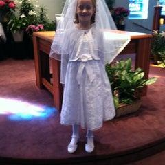 Photo taken at St.Louis Catholic Church by Rebecca M. on 4/21/2013