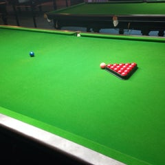 Photo taken at Cue Time Snooker by Printhen on 9/21/2013