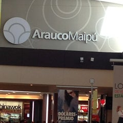 Photo taken at Mall Arauco Maipú by Pamela M. on 3/9/2013