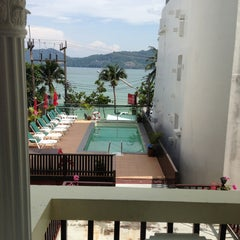 Photo taken at Patong Swiss Hotel Phuket by Supinya S. on 4/25/2013