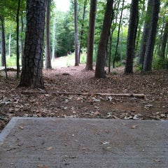Photo taken at Bradford Park Disc Golf Course by Sean M. on 10/12/2013