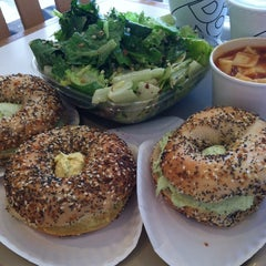 Photo taken at Bodo's Bagels by Cara C. on 3/8/2014