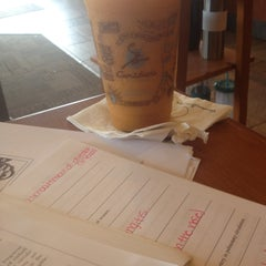Photo taken at Caribou Coffee by Morgan T. on 4/25/2013