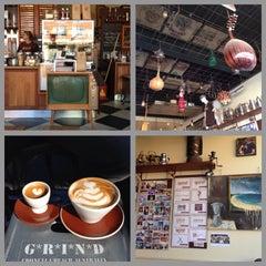 Photo taken at Grind Espresso by Adrian M. on 7/22/2013