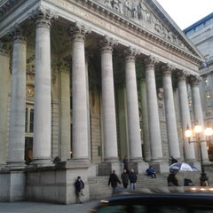 Photo taken at The Royal Exchange by Mark L. on 2/27/2013