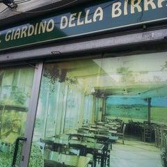 Photo taken at Giardino della Birra by Francesco P. on 7/17/2013
