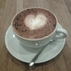 Photo taken at Boréal Coffee Shop by Frank V. on 3/6/2013
