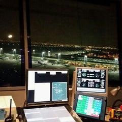 Photo taken at Torre De Control - Aeropuerto AMB by Carlos V. on 7/19/2015