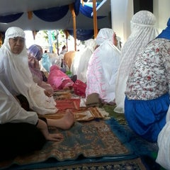 Photo taken at Masjid Ad-Du'a by Hayu L. on 8/8/2013