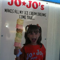 Photo taken at JoJo's Ice Cream by Rico R. on 6/1/2013